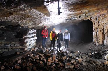 underground photography workshop with Unloved Heritage? at the disused Dinas silica mine, nr Pontneddfechan