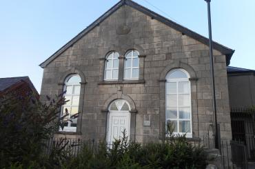 exterior image on masonic lodge Denbigh