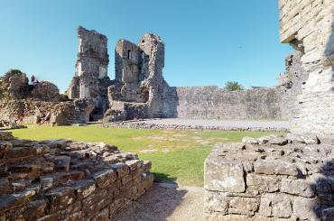 coity castle 3d walkaround tour still