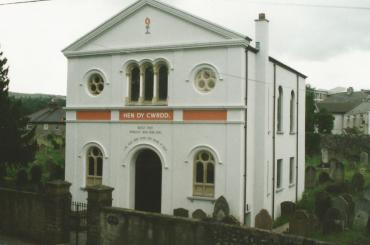 outside view of Hen Dŷ Cwrdd Unitarian Chapel
