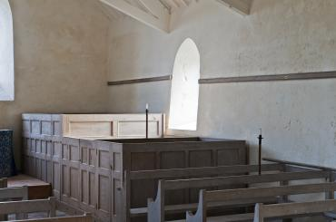interior image of St Mary's Church, Penllech