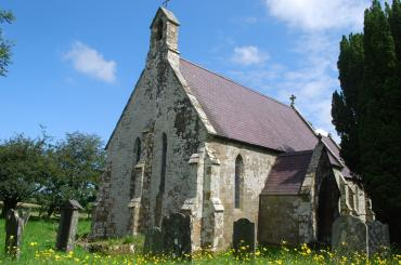 exterior image of St Michael's,Tremain