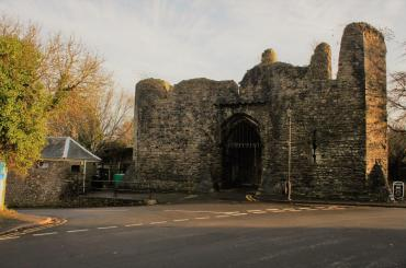 outside image of Bishops Castle Llandaff