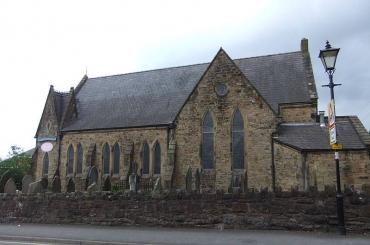 outside view of Tyddyn Street United Church