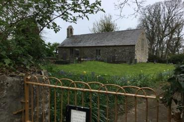 outside image of St Mary's Llanfair yn y Cwmwd, Gaerwen