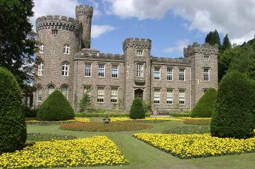 exterior image of Cyfartha Castle